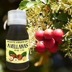 Aceite de Avellanas 1 Oz 30 ml