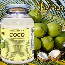 Aceite de coco virgen 960 ml