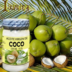 Aceite de coco virgen 4 Oz 120 ml OFERTA
