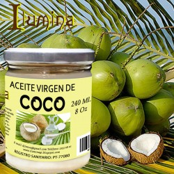Aceite de coco virgen 8 Oz 240 ml OFERTA