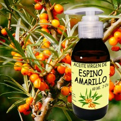 Aceite de Espino amarillo 2 Oz 60 ml