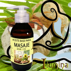 Aceite base para masaje 2 Oz 60 ml